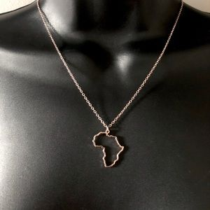 Africa Link Chain w. Pendant